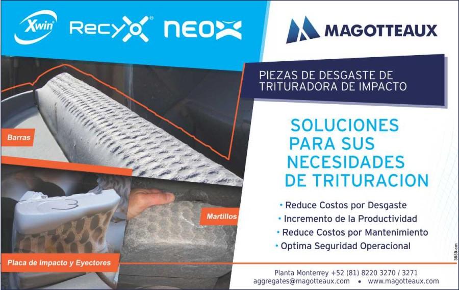 Magotteaux MEX, productos con el mínimo desgaste